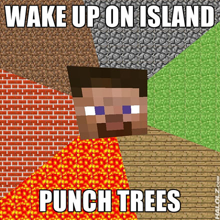 wpid halolz dot com minecraft wakeuponisland punchtrees Minecraft Mods, Resource Packs, Maps