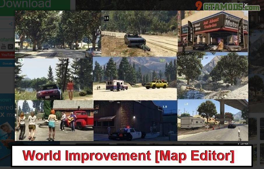 world improvement for gta 1 Minecraft Mods, Resource Packs, Maps