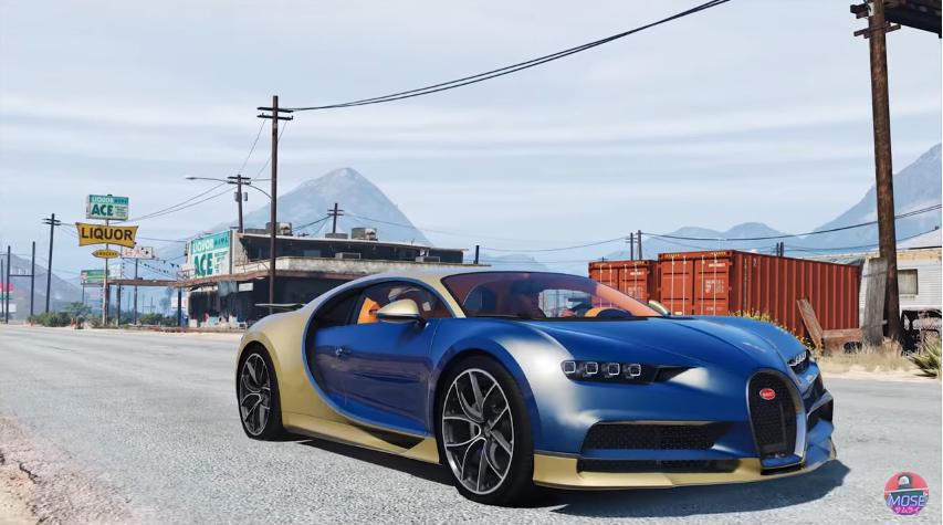 Bugatti Chiron Sport 01 Minecraft Mods, Resource Packs, Maps