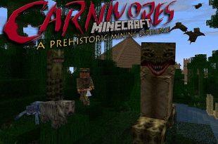 download carnivores resource packs Carnivorestexturepack Minecraft Mods, Resource Packs, Maps