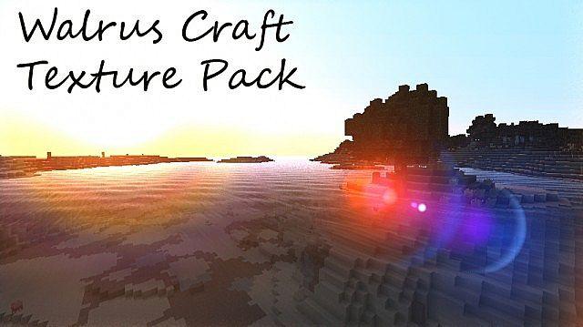 Download Walrus Craft Resource Packs