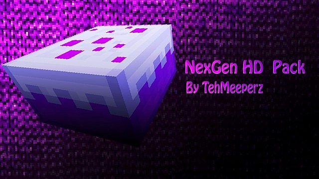 Download Nexgen HD Resource Packs