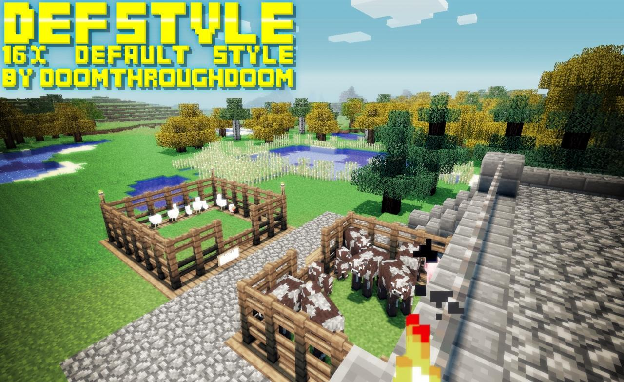 Download DefStyle Resource Packs