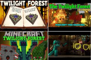 Twilight Forest 1 Minecraft Mods, Resource Packs, Maps
