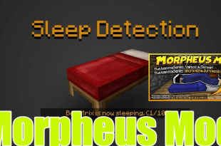 Morpheus Mod 1 Minecraft Mods, Resource Packs, Maps