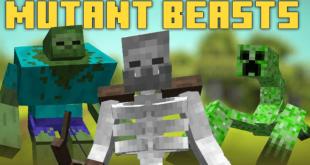 Mutant Beasts Mod 1 Minecraft Mods, Resource Packs, Maps